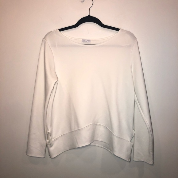 Zara Tops - Zara Cut Out Long Sleeve Top